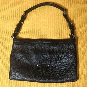New! Danier buttery soft black leather handbag